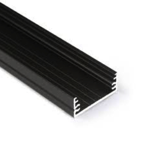 led profiel 30mm zwart