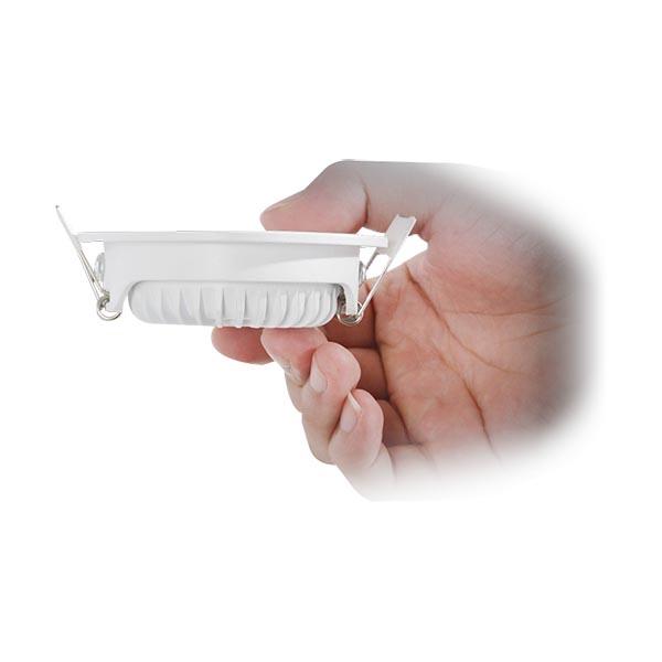 led spot wit dimbaar 75mm