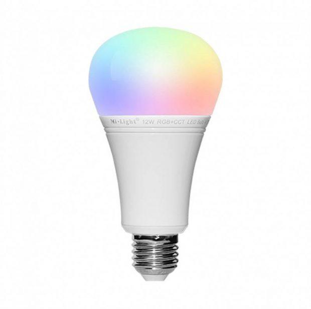 e27 instelbare kleurenlamp