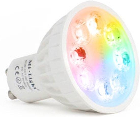 gu10 led spot kleur