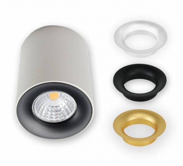 goud witte led lamp