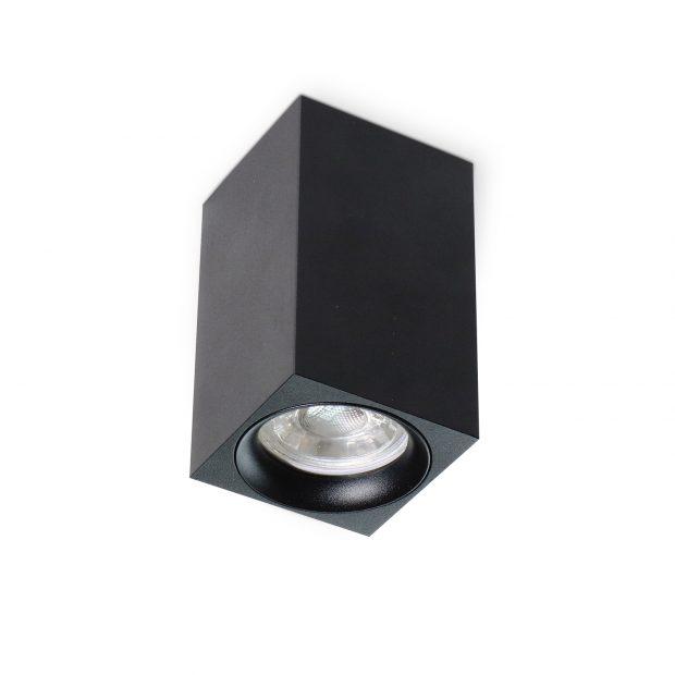 led profiel zwart gu10