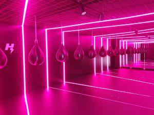 led strips sportschool