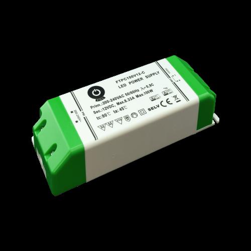 FTPC100V12 d dimbare led voeding 100w 12v 1