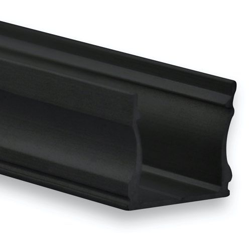 led profiel 16mm zwart