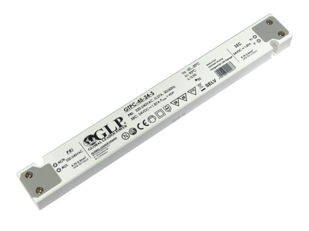 led voeding gtpc 45 24 s 45watt 24vdc