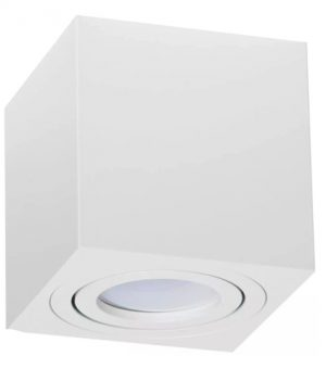 wit vierkante led opbouw spot