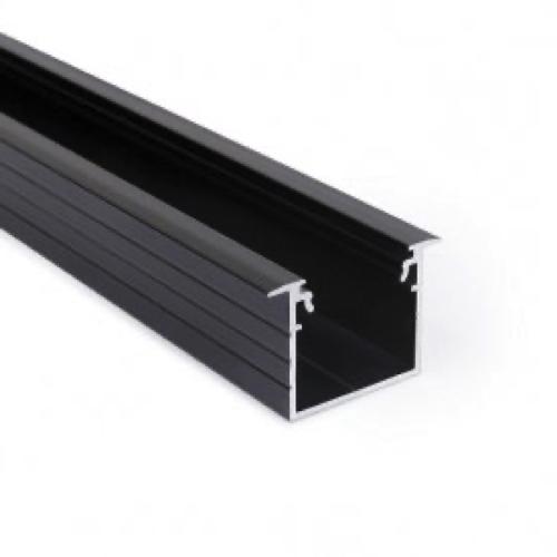 zwart inbouw profiel 20mm