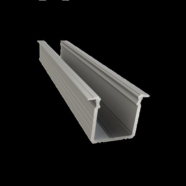 led inbouw profiel 16mm x 16mm