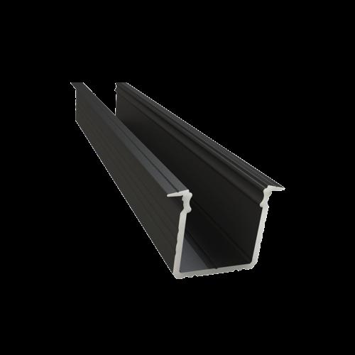 led inbouw profiel 16mm zwart