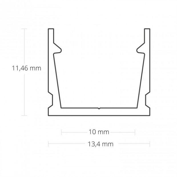 led profiel 13mm
