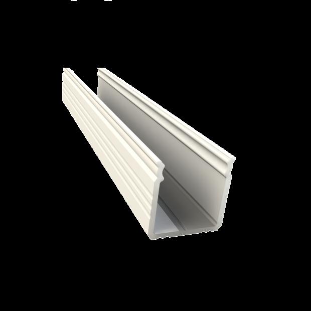 wit led profiel 16mm