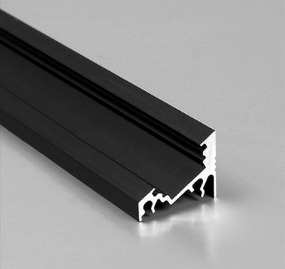 zwart led hoek profiel 20mm