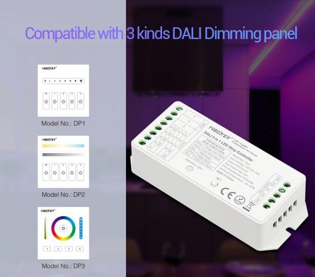 MIBOXER DALI LED controller DALI 5 in 1 LED strip controller led
