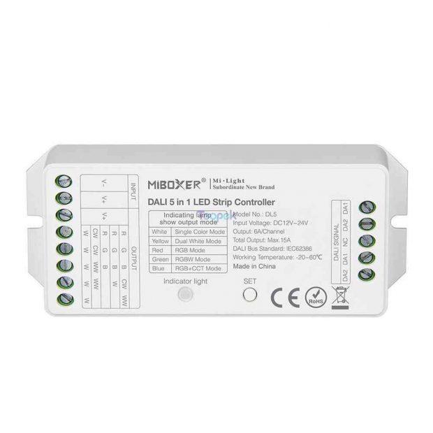 Miboxer Dali 5 In 1 Led Strip Controller DL5 dc 12 24V Compatibel DP1 DP2 DP3.jpg q50