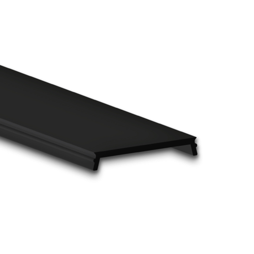 zwart led profiel afdekking 2m
