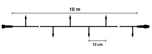 10 meter kerstverlichting